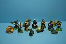 Dollhouse Miniature Christmas Nativity Scene 12 Pcs ~ MUL5543