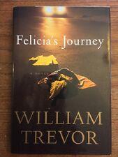 William Trevor• Felicia's Journey (1995 HC) 1st US Edition/1st Printing•Like New