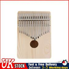 More details for 17 key kalimba thumb finger piano wooden musical instruments for beginners ✧