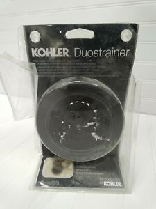 Kohler Duostrainer Sink Strainer Less Tailpiece in Oil-Rubbed Bronze