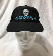 Rare Vtg 90s Stone Cold Steve Austin World Champion WWE ECW SnapBack Hat WWF WCW