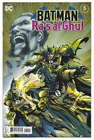 Batman vs. Ra's al Ghul #5 2021 Unread Neal Adams Main Cover DC Comic Book