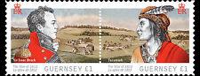 Guernsey 2012 war of 1812        postfris/mnh