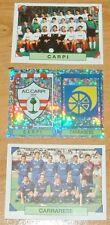 PANINI FOOTBALL CALCIATORI  1993-1994 CARPI CARRARESE SERIE C CALCIO ITALIA