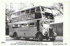 Transport Postcard - L.T Route 108 at Crystal Palace STL 1827 Low Roof Body 2406
