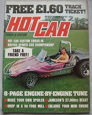 Hot Car magazine september 1976
