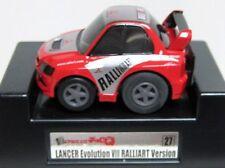 Japan Tomy Choro Q Mitsubishi Lancer Evolution EVO VIII 8 Ralliart Rally Car