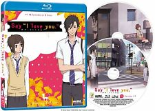 Say I Love You . The Complete Series Collection . Anime . 2 Blu-ray . NEU . OVP