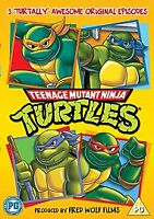 Teenage Mutant Ninja Turtles: Three Episodes - NEW FACTORY SEALED REGION 2 DVD