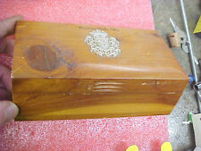 FT1 Vintage Wisconsin Dells Trinket cedar wood wooden box jewelry 1978 from Lois