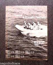 O340 - Advertising Pubblicità - 1967 - LAROS BATTELLO PIRELLI