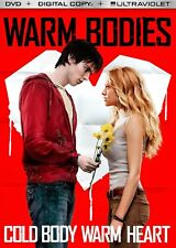 Warm Bodies DVD MOVIE Nicholas Hoult ZOMBIE Teresa Palmer WARMBODY ohn Malkovich