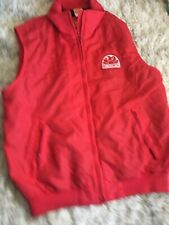 NWT Sundek Trunks Red Nylon Vest Jacket