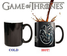 Game of Thrones Winter Coming Color Changing Heat Senstive Coffee Mug Cup NEW