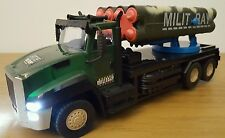 MILITARY TRUCK MISSILE LAUNCHER ARMY Radio Remote Control Car  FAST SPEED  25CM