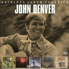 "JOHN DENVER ""ORIGINAL ALBUM CLASSICS"" 5 CD NEU"