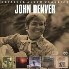 """JOHN DENVER """"ORIGINAL ALBUM CLASSICS"""" 5 CD NEU"""