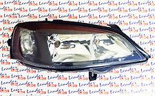 Vauxhall Astra G Mk4-faros cabeza luz lámpara lente - (estilo Negro) RHS-Nuevo