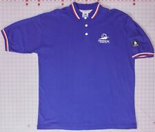 France 98 World Cup Collared Blue XL Polo Shirt