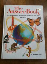 The Answer Book, Mary Elting, Grosset & Dunlap, 1963