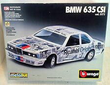 Bburago 1:24 Die-Cast Model Car Kit: BMW 635 CSI, Cod.5173, Made (3449)