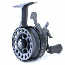 Clam Gravity Inline Ice Fishing Reel, Left Hand