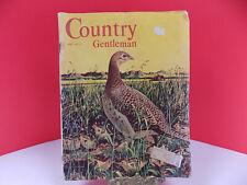 1954 COUNTRY GENTLEMAN Ads FARM ARTICLES HOGS POND MILK CARS MCM ILLUS 154 pps