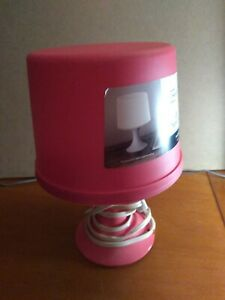 Mainstays LED Table Lamp (Pink)