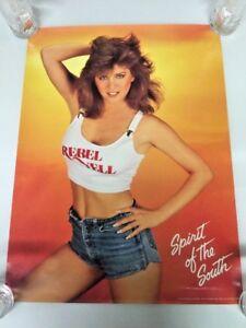 Vintage Spirit Of The South Rebel Ale Beer 1988 Poster 18/24
