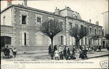 69. SAINTE COLOMBE LES VIENNE - mairie et groupe scolaire . 1909
