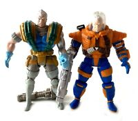 Cable 1 & 2 Vintage Uncanny X-Men X-Force Figures Lot Complete 90s Toybiz Marvel