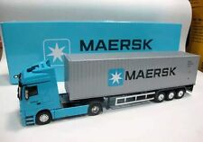 NEW 1:50 Mercedes Benz MAERSK container truck model