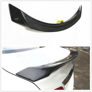 For 2016-2018 NISSAN ALTIMA Real Carbon Fiber Factory Style Spoiler Wing  Black