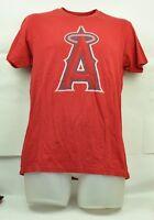 MLB California Los Angeles Angels Wright & Ditson Medium Red Short Sleeve Tshirt