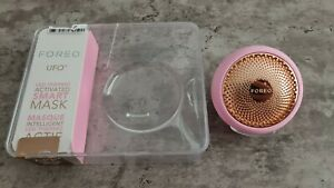 FOREO UFO Smart Mask Treatment Device - Pearl Pink opened box