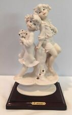 Vintage 1991 Giuseppe Armani Boy Girl In Love Figurine Florence Italy Signed