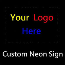 Custom Neon Sign Light Handcraft Visual Artwork Party Beer Bar Pub Display Decor