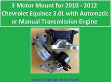 3 Motor Mount for 2010 - 2012 Chevrolet Equinox 3.0L Automatic & Manual Trans Mo