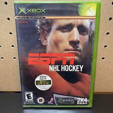 ESPN NHL Hockey for Microsoft Xbox - NEW SEALED