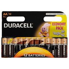 AA or AAA DURACELL Batteries Original 12 PACK DURALOCK ECONOMY PACKS