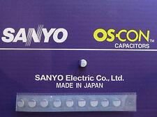 10pcs Oscon Sanyo SMD OS-CON 560µF/10V