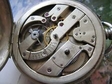 Henry Moser high grade savonette pocket watch movement for repair or parts