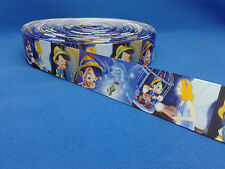 1 metre length of Pinocchio design Cake/Hair/craft ribbon @ MrsMario's
