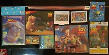 LOT 1996 Disney Pixar Toy Story Collection - Puzzle, comic book, key chain more