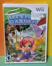 Let's Play Garden - Nintendo Wii, Wii U Brand New Factory Sealed Game