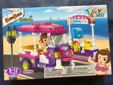 New! BanBao Trendy Beach Kits Girl Building Children Toys Building Blocks