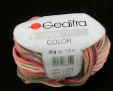 (79,00 €/kg): 450 Gramm Frisetto Color von  Gedifra, Farbe 8804 pink bunt  #1388