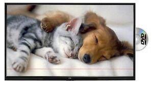 "22"" LED LCD HD TV DVD Combi Freeview, HDMI, PC & CCTV Input Wall Mountable **L**"