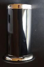 Sanwood Mundspülbecher NELE Edelstahl schwarz Zahnputzbecher modern Becher