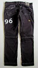 "G-Star Heritage Embro Tapered Mens Black Denim Jeans W34"" X L32"""
